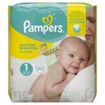 PAMPERS NEW BABY PREMIUM PROTECTION, taille 1, 2 kg à 5 kg, sac 22 à LE BOUSCAT