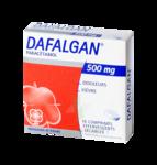 DAFALGAN 500 mg, comprimé effervescent sécable à LE BOUSCAT