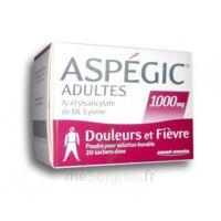 ASPEGIC ADULTES 1000 mg, poudre pour solution buvable en sachet-dose 20 à LE BOUSCAT