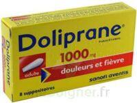 DOLIPRANE ADULTES 1000 mg, suppositoire à LE BOUSCAT