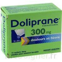 DOLIPRANE 300 mg Poudre pour solution buvable en sachet-dose B/12 à LE BOUSCAT