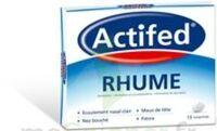 ACTIFED RHUME, comprimé à LE BOUSCAT