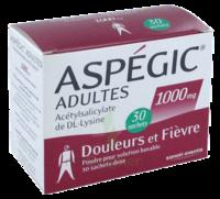 ASPEGIC ADULTES 1000 mg, poudre pour solution buvable en sachet-dose 30 à LE BOUSCAT