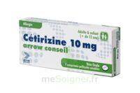 CETIRIZINE ARROW CONSEIL 10 mg, comprimé pelliculé sécable à LE BOUSCAT