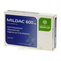 MILDAC 600 mg, comprimé enrobé à LE BOUSCAT