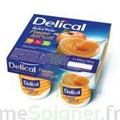 DELICAL NUTRA'POTE DESSERT AUX FRUITS, 200 g x 4 à LE BOUSCAT