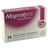 MOPRALPRO 20 mg Cpr gastro-rés Film/14 à LE BOUSCAT