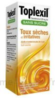 TOPLEXIL 0,33 mg/ml SANS SUCRE, solution buvable édulcorée à l'acésulfame potassique à LE BOUSCAT