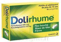 DOLIRHUME PARACETAMOL ET PSEUDOEPHEDRINE 500 mg/30 mg, comprimé à LE BOUSCAT