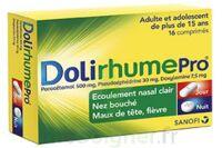 DOLIRHUMEPRO PARACETAMOL, PSEUDOEPHEDRINE ET DOXYLAMINE, comprimé à LE BOUSCAT