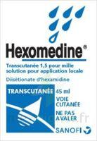 HEXOMEDINE TRANSCUTANEE 1,5 POUR MILLE, solution pour application locale à LE BOUSCAT