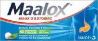MAALOX HYDROXYDE D'ALUMINIUM/HYDROXYDE DE MAGNESIUM 400 mg/400 mg Cpr à croquer maux d'estomac Plq/40 à LE BOUSCAT