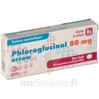 PHLOROGLUCINOL ARROW 80 mg Cpr orodisp Plq/20 à LE BOUSCAT