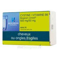 CYSTINE/VITAMINE B6 BIOGARAN CONSEIL 500 mg/50 mg Cpr pell Plq/120 à LE BOUSCAT