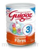 GUIGOZ 3 LAIT DE CROISSANCE FIBRES  800G à LE BOUSCAT