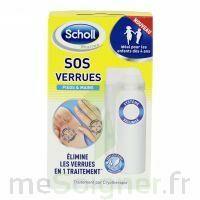 Scholl SOS Verrues traitement pieds et mains à LE BOUSCAT