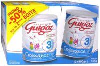GUIGOZ LAIT CROISSANCE 3 2X800GR à LE BOUSCAT