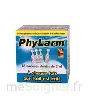 PHYLARM, unidose 2 ml, bt 16 à LE BOUSCAT