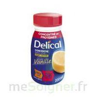 DELICAL BOISSON HP HC CONCENTREE Nutriment vanille 4Bouteilles/200ml à LE BOUSCAT