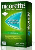 NICORETTE 2 mg Gom à mâcher médic sans sucre menthe fraîche Plq/30gom à LE BOUSCAT