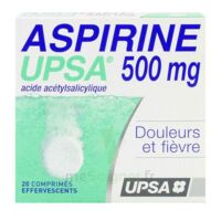 ASPIRINE UPSA 500 mg, comprimé effervescent à LE BOUSCAT