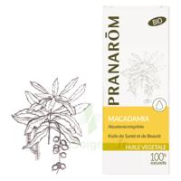 PRANAROM Huile végétale bio Macadamia 50ml à LE BOUSCAT