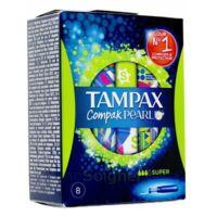Tampax Compak Pearl Super à LE BOUSCAT