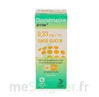 OXOMEMAZINE ARROW 0,33 mg/ml SANS SUCRE, solution buvable édulcorée à l'acésulfame potassique à LE BOUSCAT