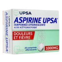 ASPIRINE UPSA TAMPONNEE EFFERVESCENTE 1000 mg, comprimé effervescent à LE BOUSCAT
