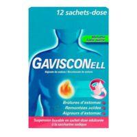 GAVISCONELL Suspension buvable sachet-dose menthe sans sucre 12Sach/10ml à LE BOUSCAT