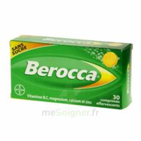 Berocca Comprimés effervescents sans sucre T/30 à LE BOUSCAT