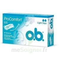 OB PRO COMFORT, light Flow , bt 16 à LE BOUSCAT