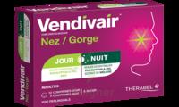 Vendivair Nez/Gorge Comprimés jour et nuit B/12+4