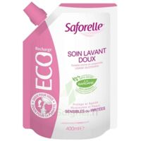 Saforelle Solution soin lavant doux Eco-recharge/400ml à LE BOUSCAT